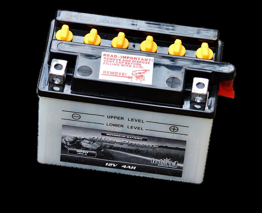 akumulátorová baterie