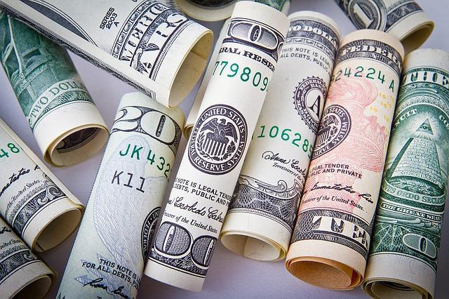 usd peníze