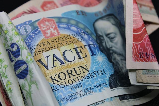 československé bankovky
