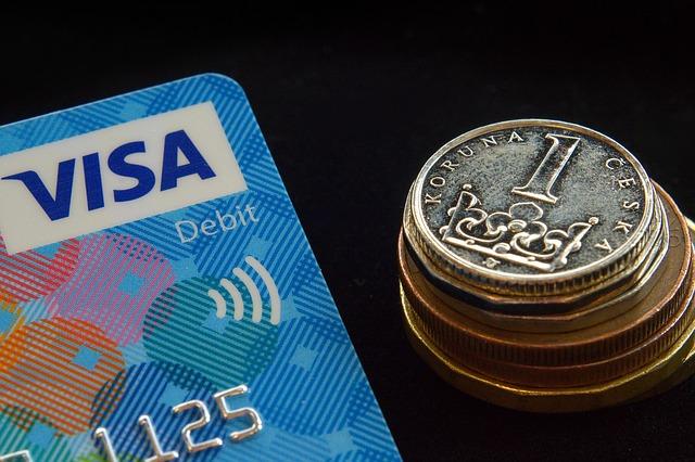kreditka a mince