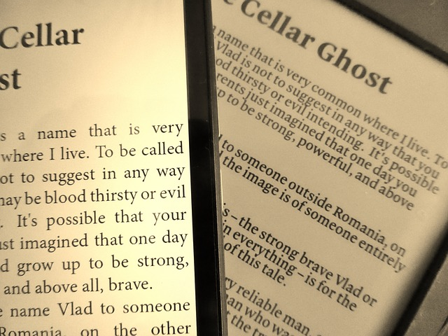 strašidelné čtení
