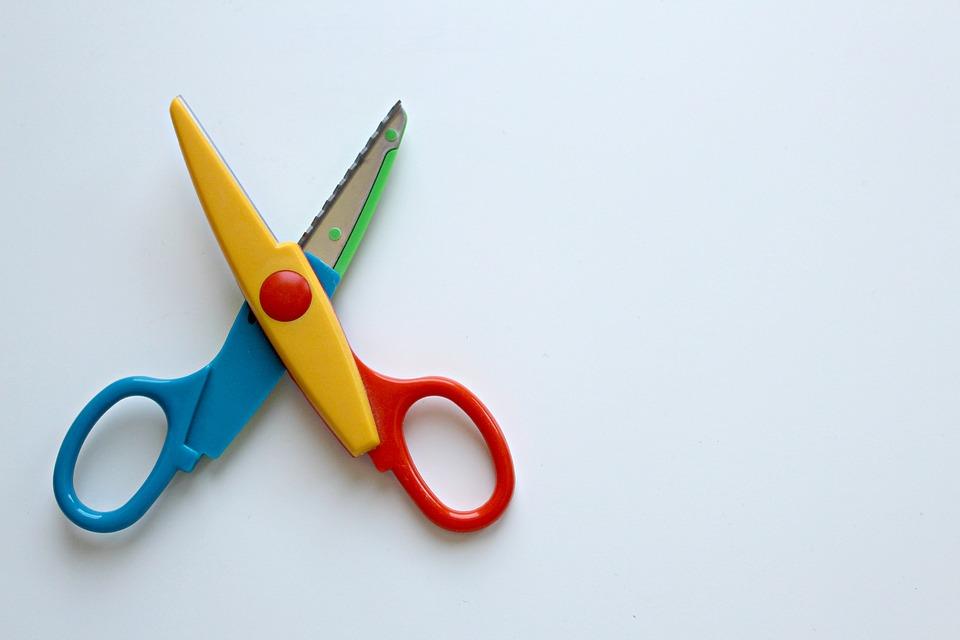 pomocník při stěhování - nůžky